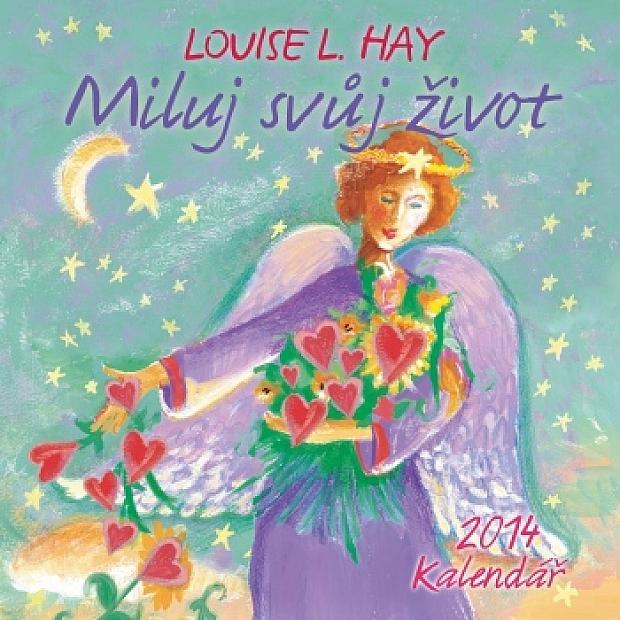 5c6b489380 Překrásně ilustrovaný nástěnný kalendář s motivačními afirmace od Louise L.  Hay. Afirmace jsou velmi účinní pomocníci na cestě našeho duchovního i  osobního ...